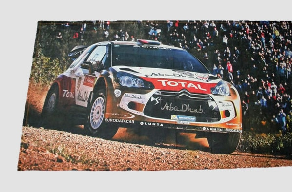 Butik Citroën Racing - Osuška DS3 WRC