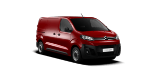 Jumpy rouge red citroen new