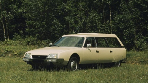 Predstavenie Citroënu CX break