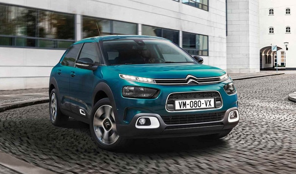 New C4 Cactus Emeraude Blue Virage pavé